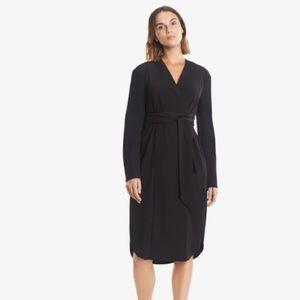 NEW MM Lafleur Gosia Solid Black Dress Office